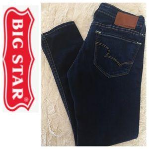 Big Star Remy Low Rise Fir Skinny Jeans Sz 25